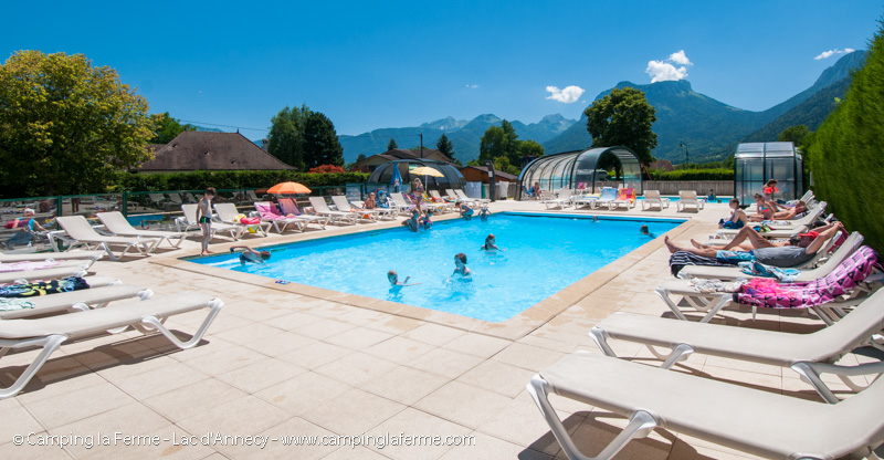 Camping lac annecy piscines et activit s for Camping annecy avec piscine