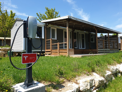 Tesla Destination Charger Lake Annecy