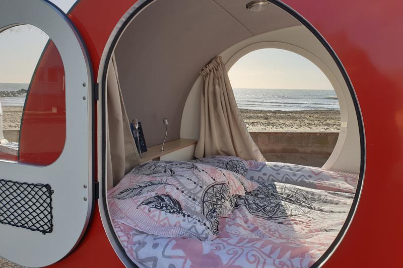 location caravane mer